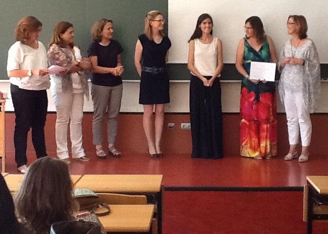 DTF - Breastfeeding Master's degree in Spain Graduation Ceremony 2015