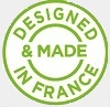 DTF - Designed made in France pictogram